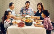 Comer en familia ayuda a lograr la meta de frutas y hortalizas: