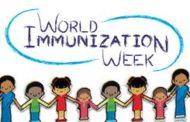 Celebrando la semana mundial de las inmunizaciones