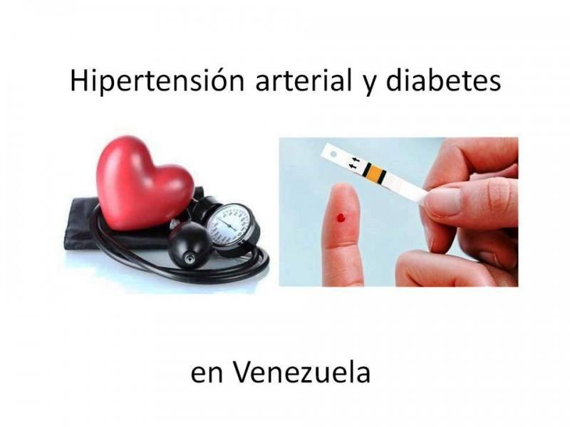 Indicadores de hipertensión arterial y diabetes en Venezuela