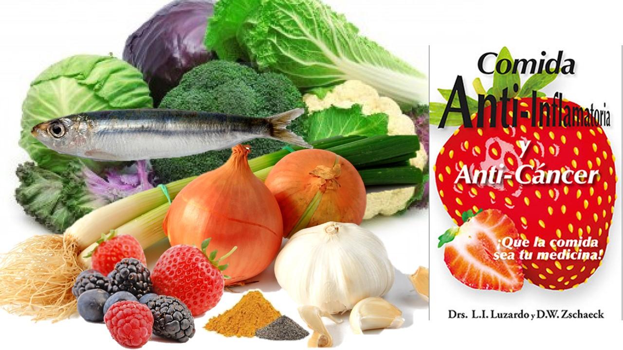 """Comida Anti-inflamatoria y Anti-cáncer"""