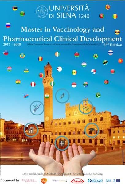 Master en Vacunología en la Universidad de Siena