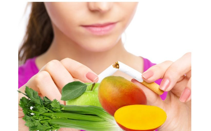Frutas Hortalizas contra tabaquismo y depresión