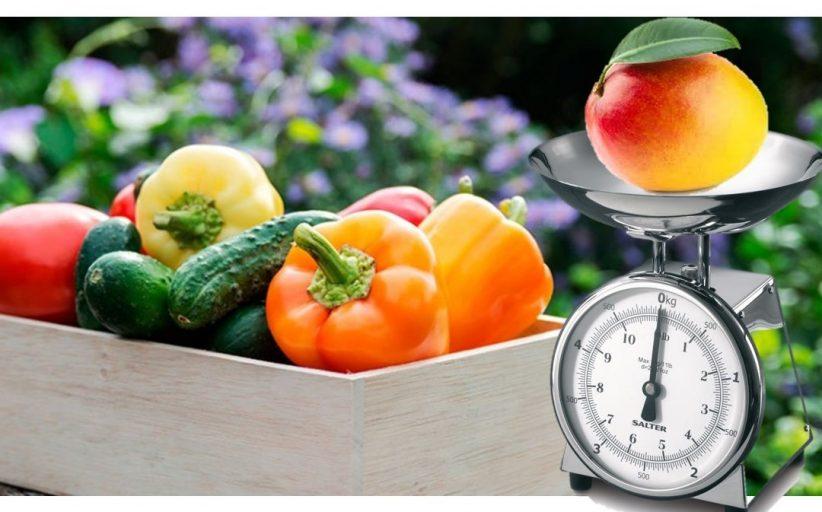 ¿Menos frutas y hortalizas? ¿No será el tamaño de la porción?