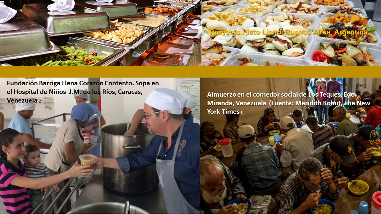 Pérdidas y Desperdicios de Alimentos. III. De solidaridad, bufetes de hotel, y otras cosas