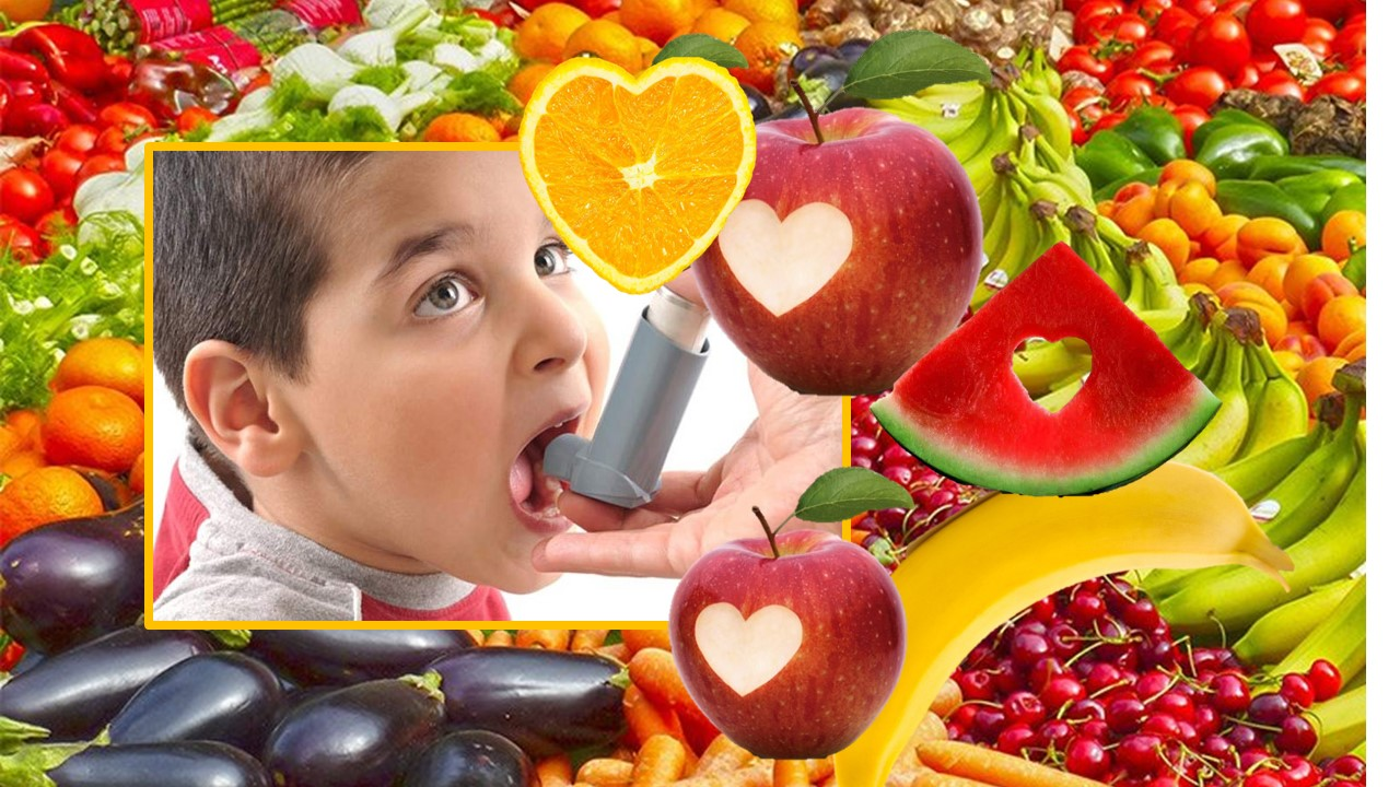 Frutas y hortalizas: También protegen contra el asma