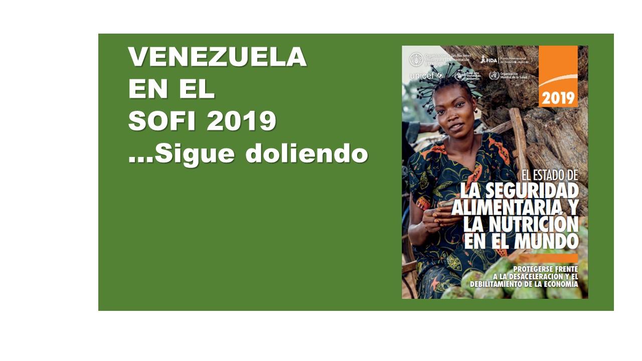 Breves reflexiones sobre el Informe del Estado de la Seguridad Alimentaria y de la Nutrición en el Mundo, SOFI 2019.