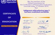 ¡Estamos muy cerca del final de la poliomielitis! Solo queda por erradicar el virus del polio tipo 1