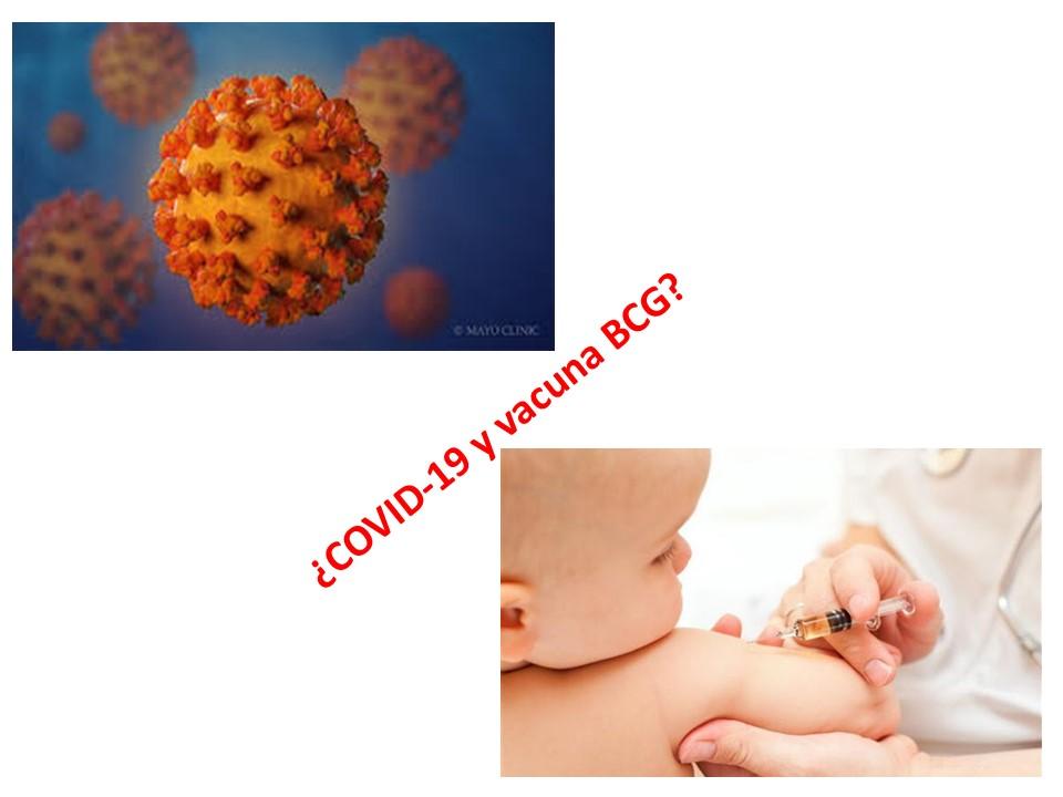 COVID-19 y Vacuna BCG: ¿Es plausible esta relación?