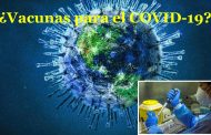 Vacunas para el control de COVID-19: ¿Están listas?