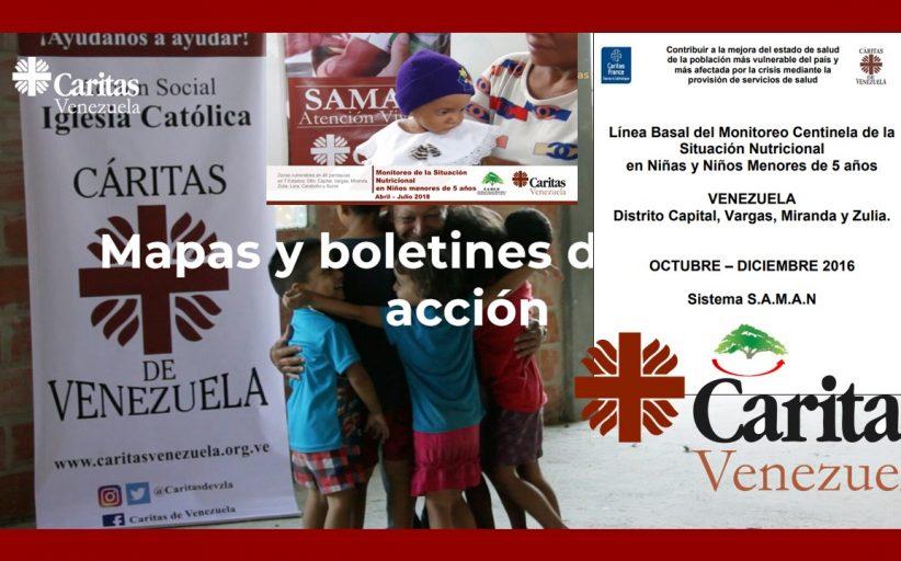 Tiempos de agradecimiento a Caritas de Venezuela