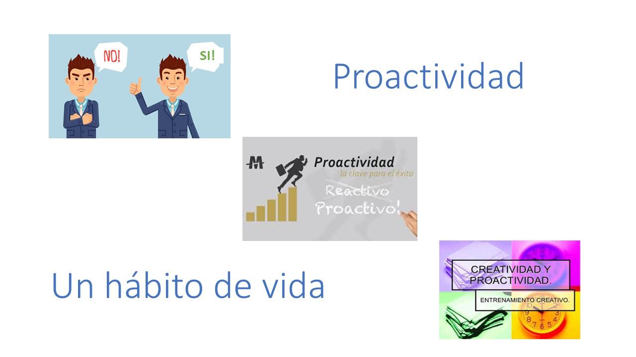 Una introducción a la Proactividad