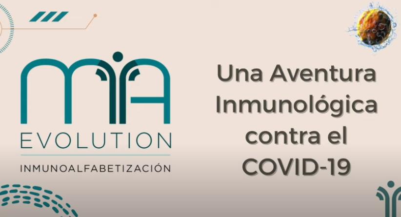 Una Aventura Inmunológica contra COVID-19. Audio por Marianela Castés