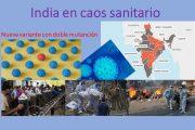Caos sanitario por el SARS-CoV-2 en India. Segunda ola