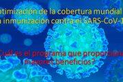 Optimización de la cobertura mundial de la inmunización contra el SARS-CoV-19